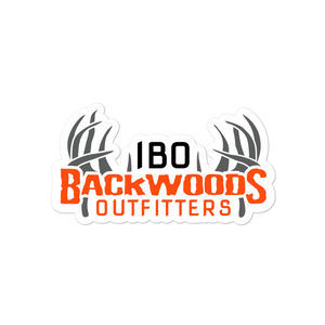 Illinois Backwoods Outfitters Bubble-free stickers