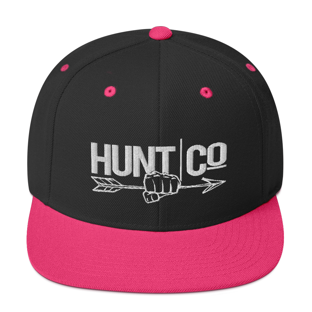 HuntCo Snapback Hat