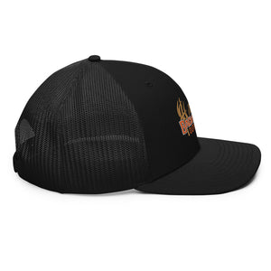 IBO Swag Trucker Gray/Orange 3B Puff