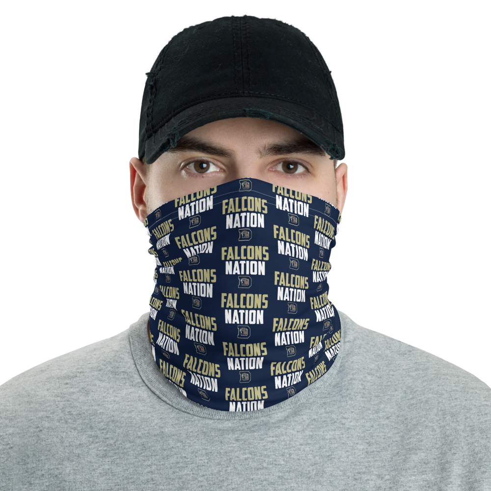 Dacula Falcons Neck and Face Gaiter