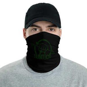 HuntCo OD Green Neck and Face Gaiter