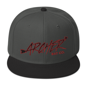 Archer Bat Co Snapback Hat