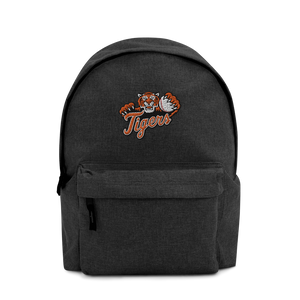 Tigers Embroidered Backpack