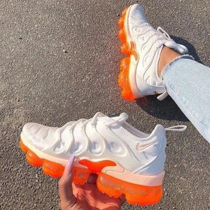 Plus Air Cushion Orange/Blue Sneakers