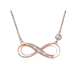 S925 sterling silver personality micro-inlaid full diamond collarbone chain