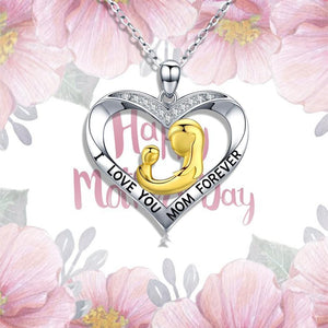 S925 Sterling Silver Classic necklace designed for mom