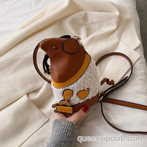 Cute mouse shape design mini bag