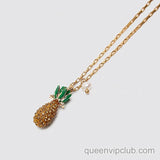 Pineapple pendant design necklace