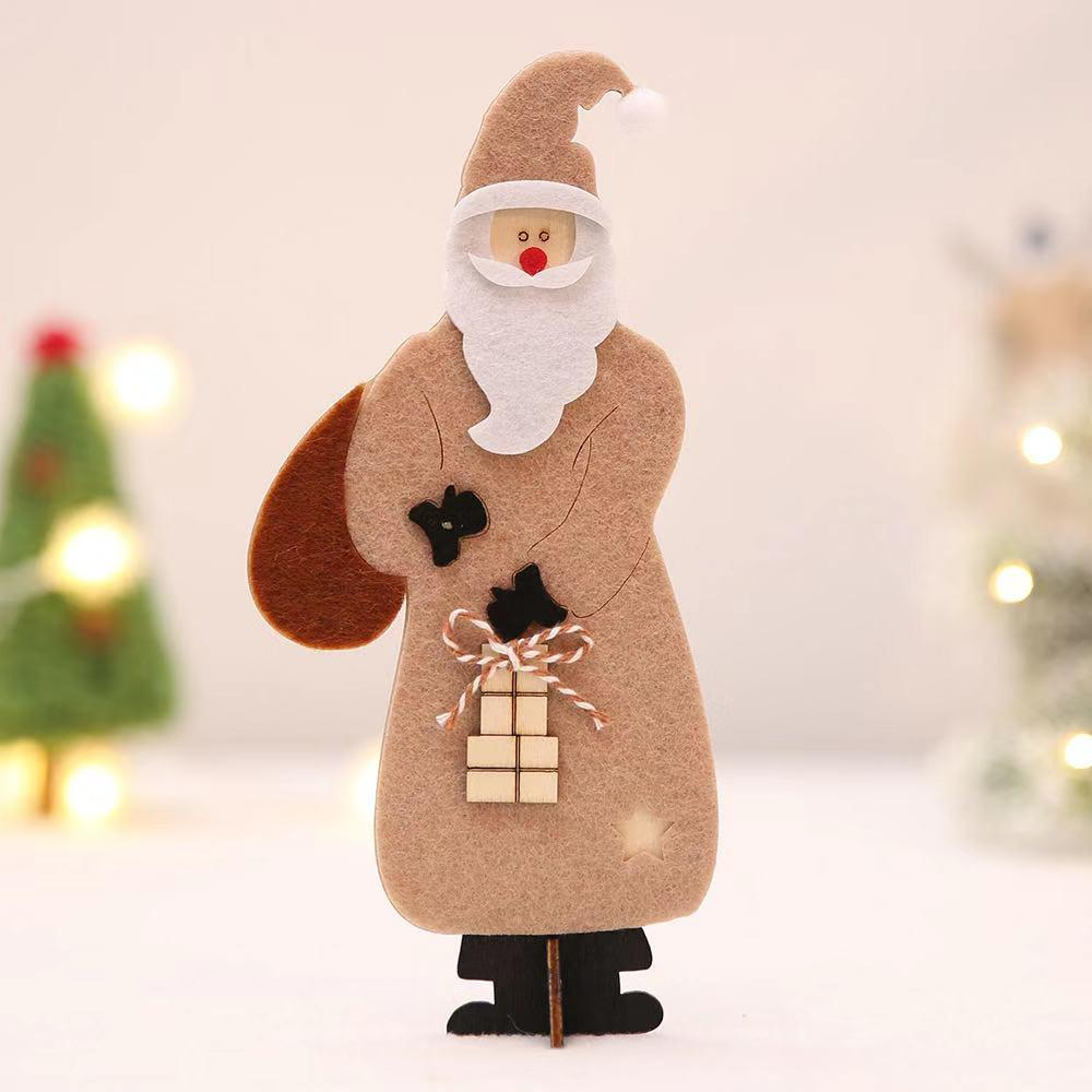 Christmas Decorations - Christmas Wooden Decorations