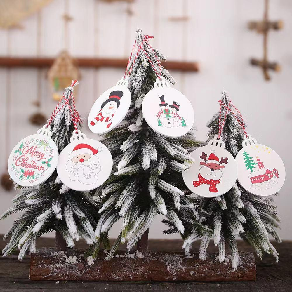 Christmas Decoration-6-pack Christmas Tree Pendant Decor