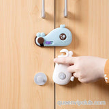 Cabinet Door Multifunction Security Lock