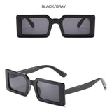 Fashion personality square small frame sunglasses
