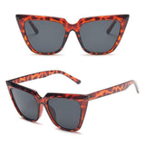 New European and American large frame cat-eye sunglasses