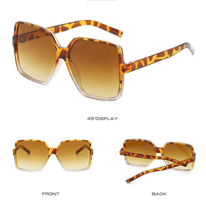New trend big frame sunglasses