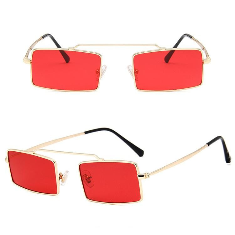 New retro colorful ocean lens sunglasses