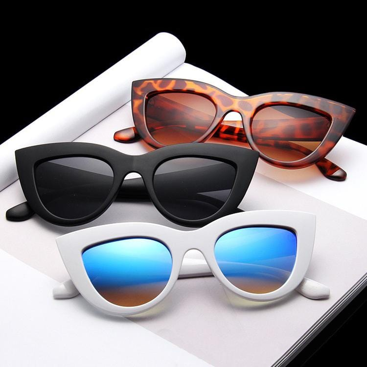 Trendy retro sunglasses