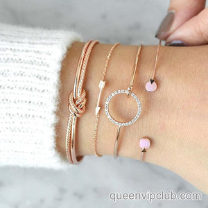 Fashion multilayer design bracelet