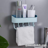 Strong Adhesive Wall Shelf Rack