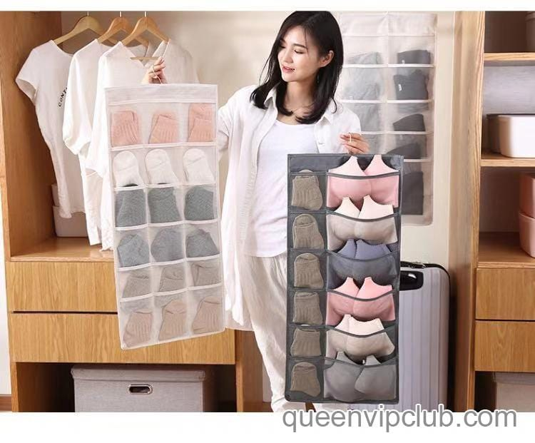 Bra, panties, socks storage bag(available on both sides)