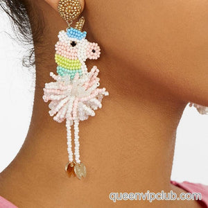 3D animal design earrings