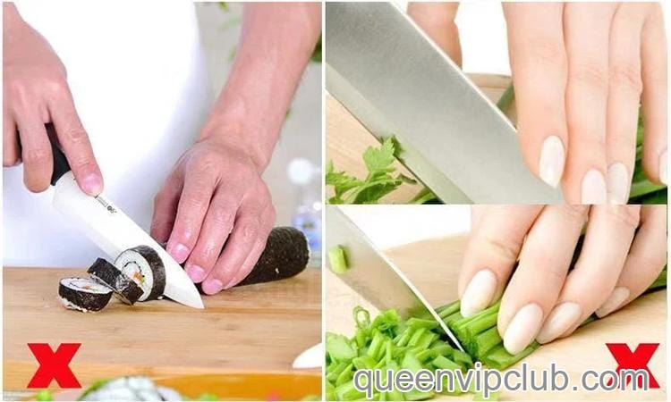 Kitchen tools stainless steel vegetable hand protector