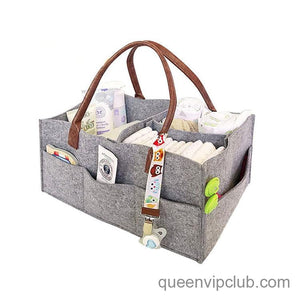 Large Capacity Diaper Storage Bag