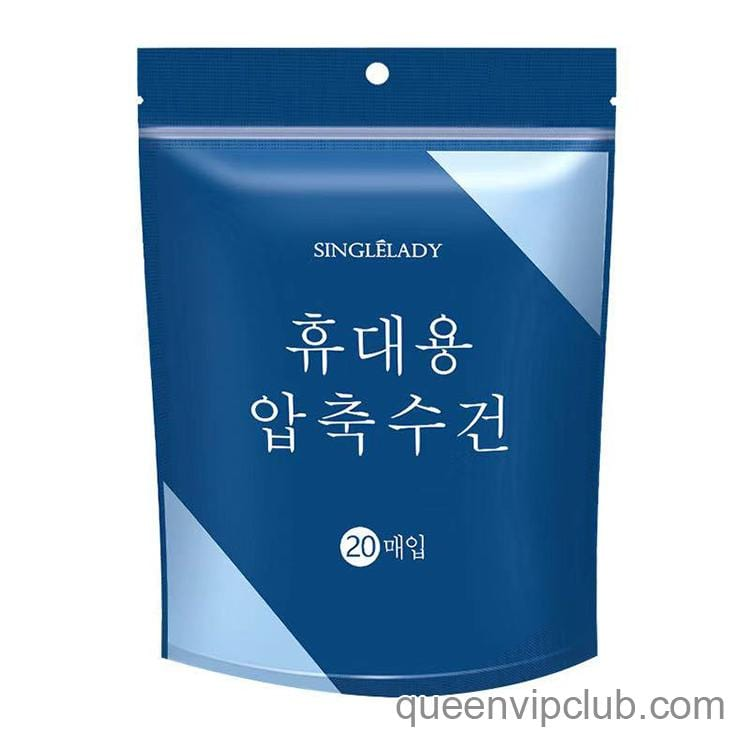 Handy disposable disposable face towel