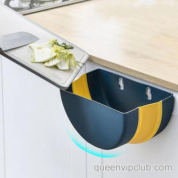 Kitchen Home Folding Trash Can