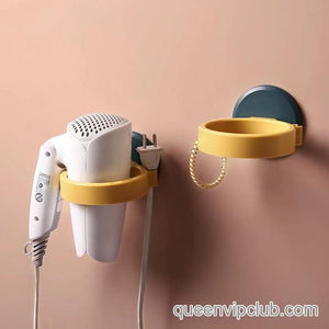 Home Bathroom Hair Dryer Strong Paste Wall Racks