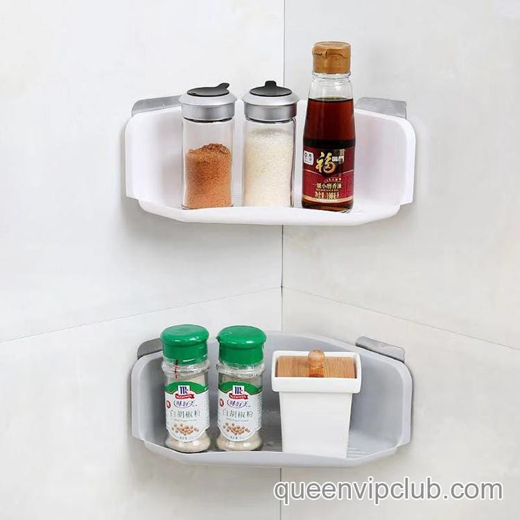 Triangular Strong Stick Rack for Kitchen Bathroom