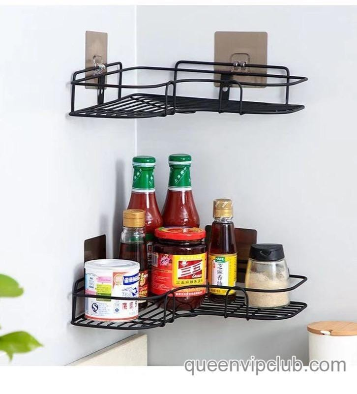 Kitchen and bathroom sticky shelves