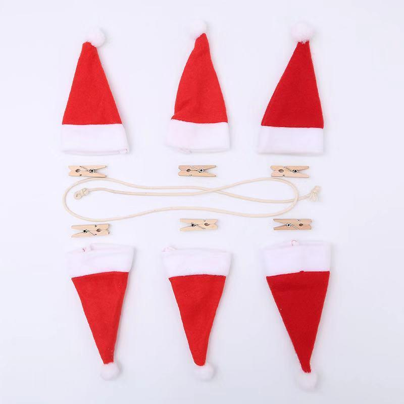 Christmas Dress Up - Christmas Hat Pull Flag