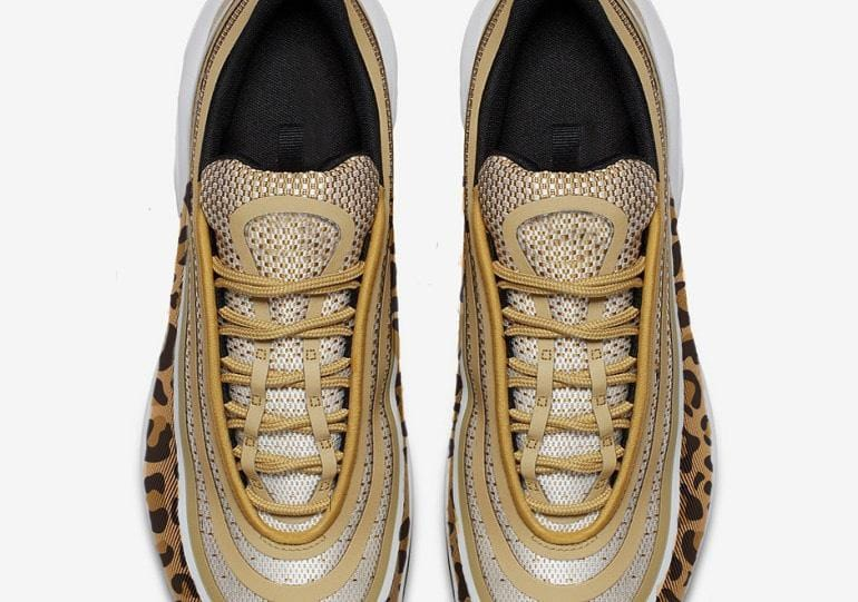 Wavy Leopard Air Cushion Sneakers【size 5-12】
