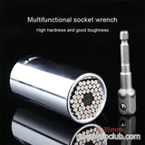 Multi-function hand drill sleeve