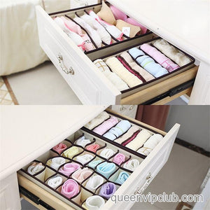 4 Pcs Practical Cloth Storage Box