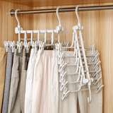 Reduced Space Folding Hangers