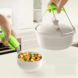 Kitchen tool bowl holder + bowl holder