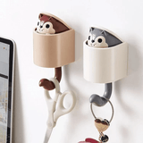 Animal Squirrel Strong Adhesive Decorative Wall Hook