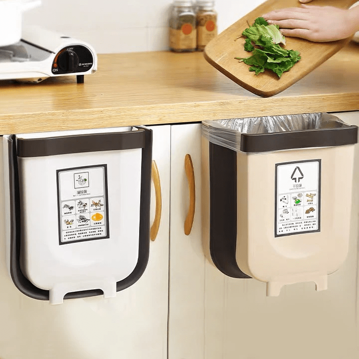 Kitchen Tools Folding Trash Can