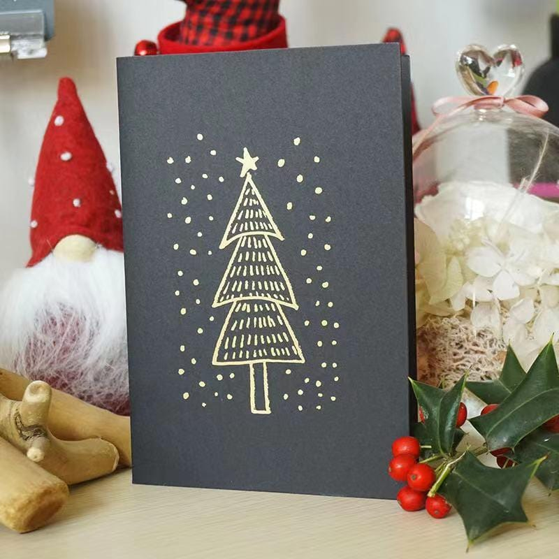 10-piece - Christmas gift greeting card