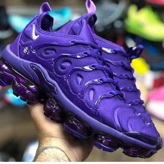 Plus Air Cushion Purple Sneakers