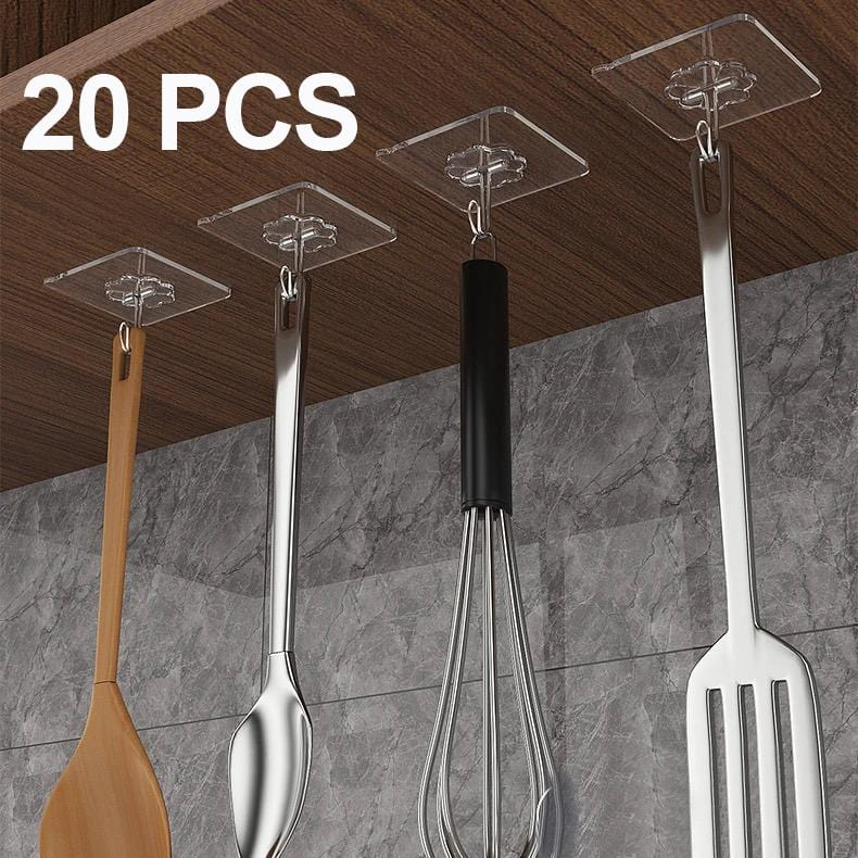 20-piece Strong Adhesive Wall Hook