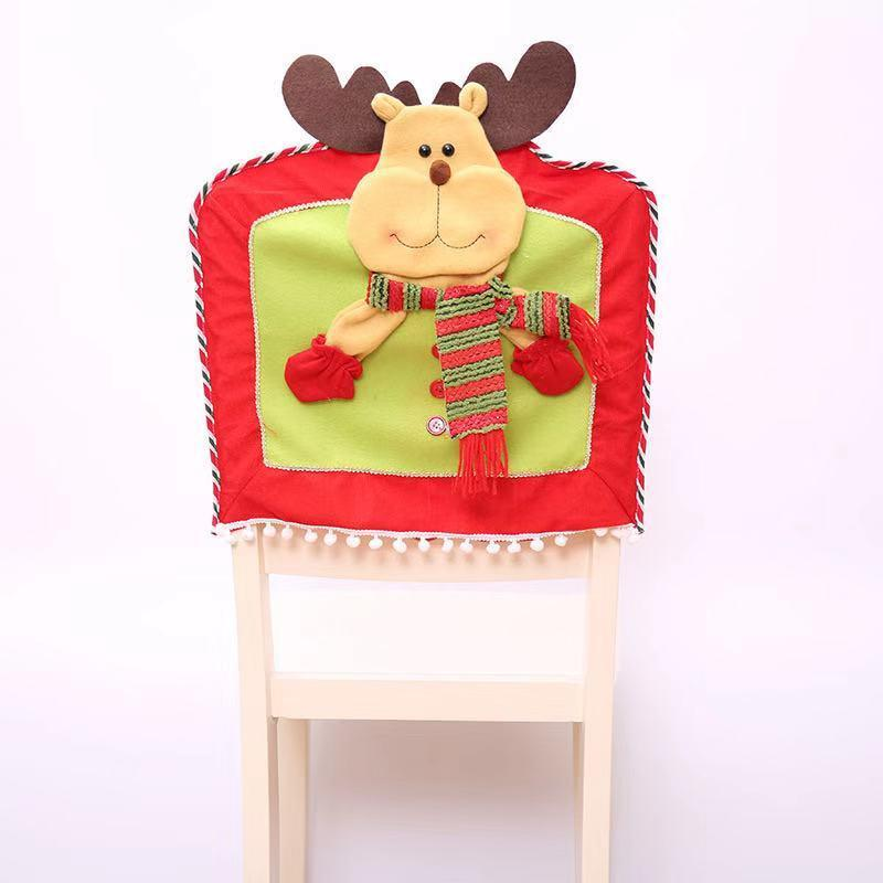 Merry Christmas Decorations - Christmas Stereo Doll Chair Set