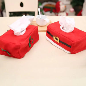 Christmas Home Supplies - Tissue Box