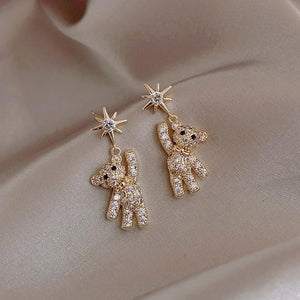 Bear Creative Design Earrings