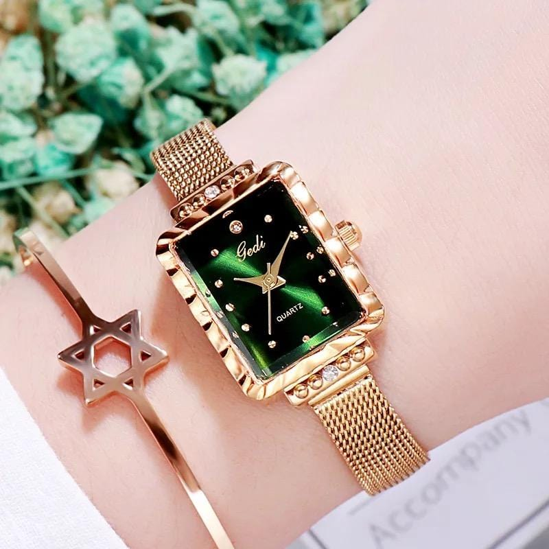Retro fashion simple retro ladies bracelet watch
