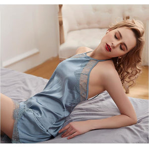 Silk Sexy Lingerie Home Camisole Sets