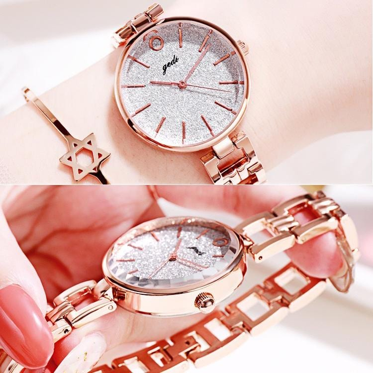 Fashion simple retro ladies bracelet watch