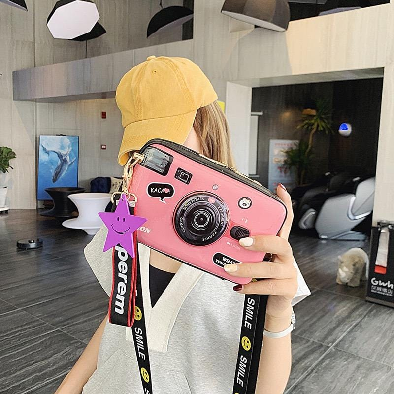 Camera shape cartoon design mini bag