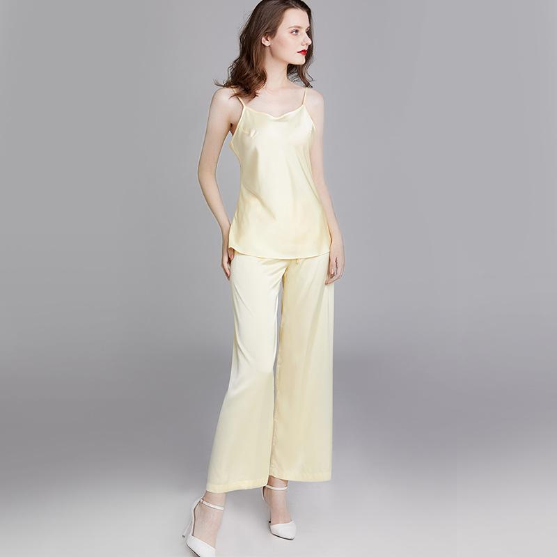 Silk sling pajamas set